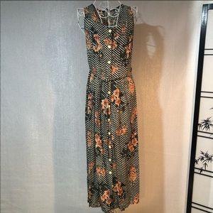 Vintage Jamie Brooke sleeveless dress